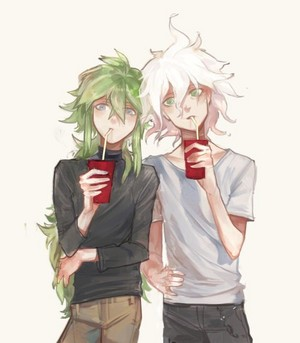 Nagito Komaeda and N | Danganronpa