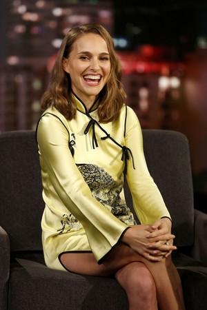 Natalie Portman at Jimmy Kimmel Live (February 15, 2018)