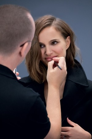Natalie Portman for Diorskin Forever Undercover [Behind the scenes]
