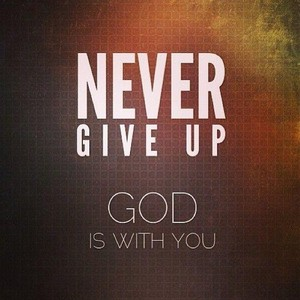 Never Give Up 인용구 For Whatsapp DP