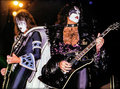 Paul and Ace ~Stockholm, Sweden...October 9, 1980 - kiss photo