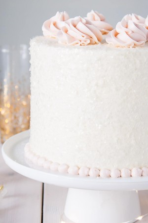 roze Champagne Cake