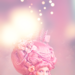 Pink dream - daydreaming icon