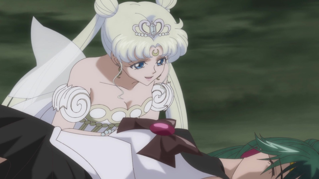 Pluto and Neo Queen Serenity
