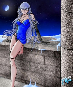 Polaris Hilda(Saint Seiya)