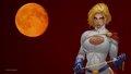 dc-comics - PowerGirl Orange Moon wallpaper wallpaper