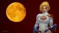 dc-comics - PowerGirl Yellow Moon wallpaper wallpaper