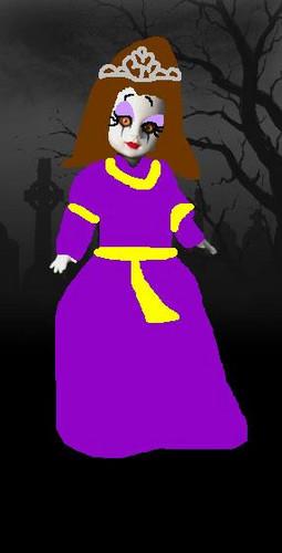 Living Dead mga manika wolpeyper entitled Princess Alise