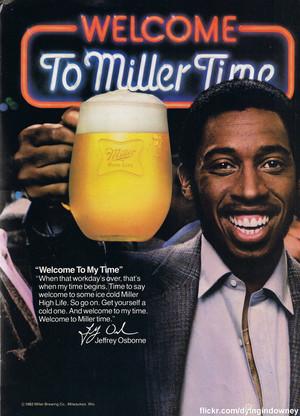 Promo Ad For Miller Time 啤酒