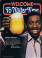 Promo Ad For Miller Time Beer - the-80s photo