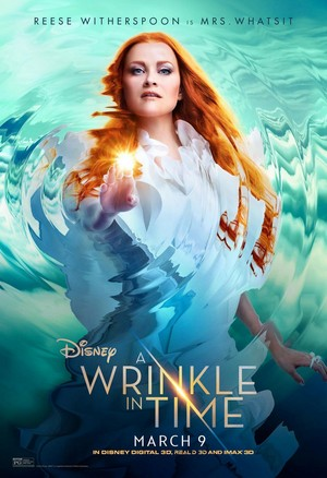 Reese Witherspoon in 'A Wrinkle in Time' [Movie Poster]