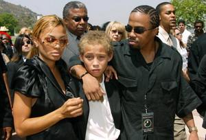 Rick James Funeral In 2004