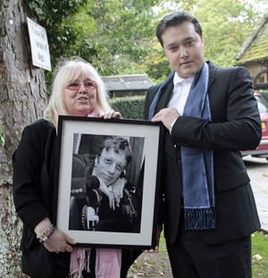 Robin Gibb's Funeral Back In 2012