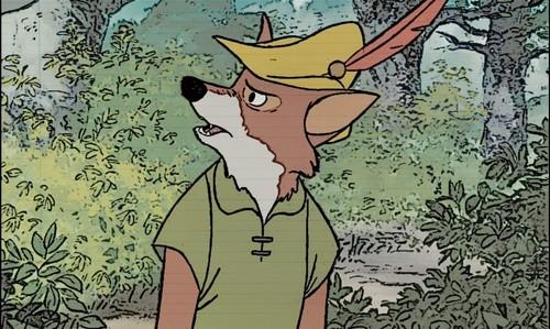 Walt Disney's Robin Hood wallpaper called Robin Hood