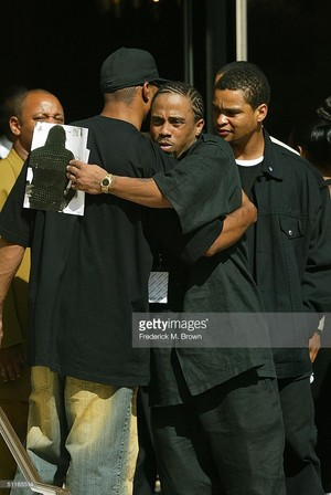 Rick James' Funeral In 2004