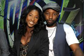 Rutina Wesley and the late Nesan Ellis