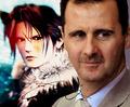 SQUALL LEONHART BASHAR AL ASSAD LOVE WAR IN EGYPT LIKE SYRIA - squall fan art