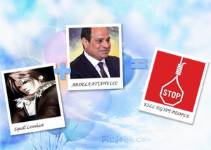 STOP ELSISI Squall Leonhart KILL MY EGYPT COUNTRY