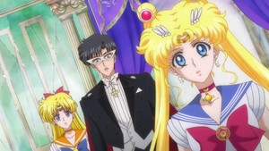 Sailor Moon Venus and Tuxedo Mask