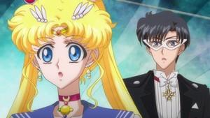Sailor Moon and Tuxedo Mask