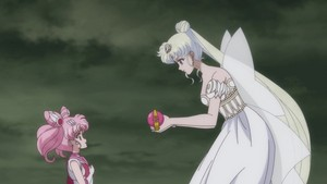 Sailor mini Moon and Neo queen Serenity