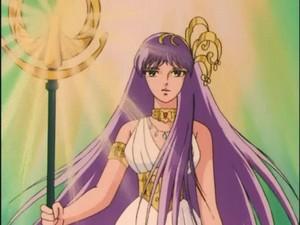 Saori/Athena(Saint Seiya)