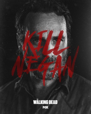 Season 8B Poster - Kill Negan