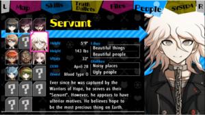 Servant (Nagito Komaeda) profil