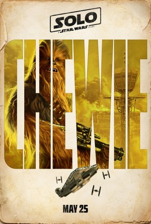 Solo: A bintang Wars Story - Chewbacca Poster