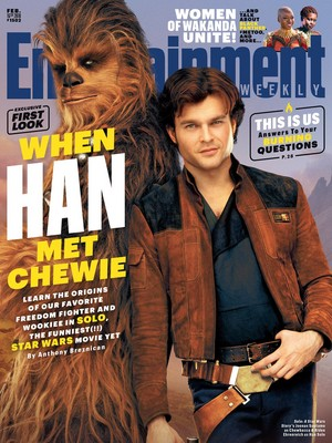 Solo: A nyota Wars Story Entertainment Weekly Cover