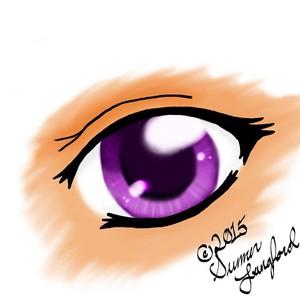 Some eye art I did on computer~