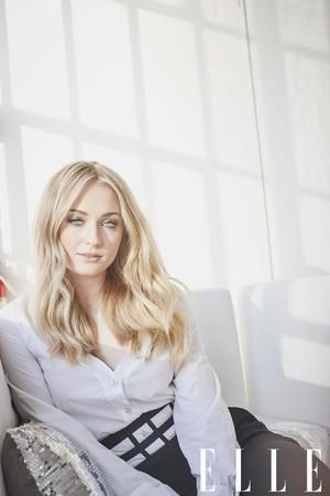 Sophie Turner ~ Elle ~ February 2018
