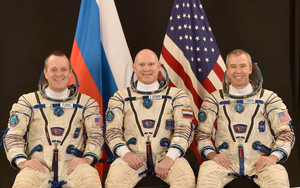 Soyuz MS 08 Mission Crew