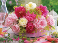 Spring Flowers Centerpiece  - daydreaming wallpaper