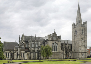 St Patrick's Cathedral In Dublin, Ireland, EU