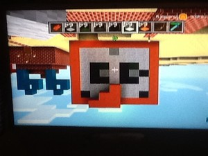 Stampy cat built in Minecraft