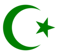 Star and crescent Moon - islam fan art