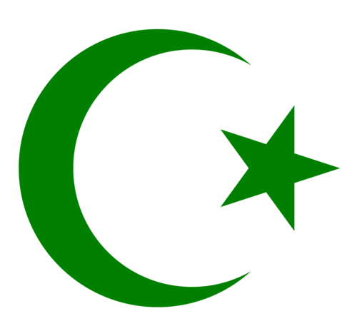 Islam wallpaper titled Star and crescent Moon