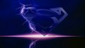 dc-comics - Super Emblem Lightning wallpaper