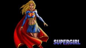 Supergirl Alone