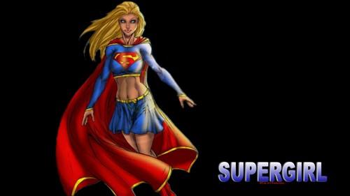 super girl teken