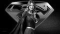 dc-comics - Supergirl   Black   White 1 wallpaper