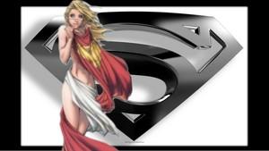 Supergirl Wallpaper - Clothes Torn