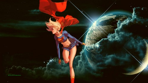 Dc comics images supergirl in space 3 hd wallpaper and background dc comics wallpaper called supergirl in space 3 voltagebd Images