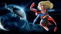 dc-comics - Supergirl In Space 4 wallpaper