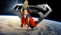 dc-comics - Supergirl Wallpaper - In Space 5 wallpaper
