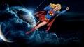 dc-comics - Supergirl In Space Again 2 wallpaper