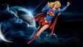 dc-comics - Supergirl In Space Again wallpaper