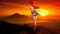 dc-comics - Supergirl   Sunset 2 wallpaper