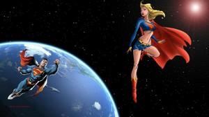 Supergirl Superman In l'espace 2